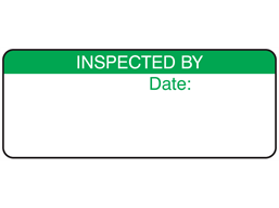 Inspected by label