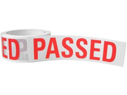 Passed tape