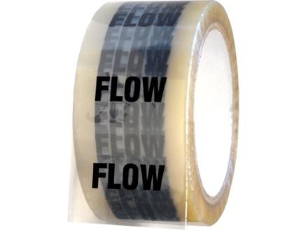 Flow pipeline identification tape.