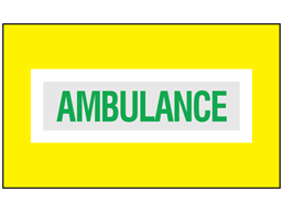 Ambulance safety armband