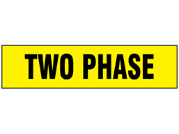 Two Phase label