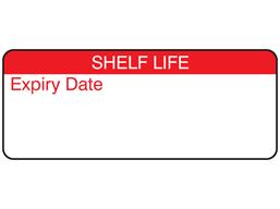 Shelf life label