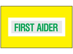 First aider safety armband