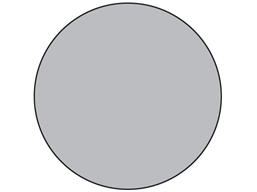 Grey electrical phase label
