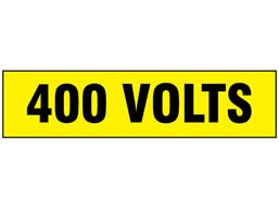 400 Volts label
