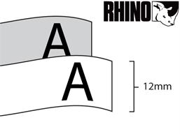Dymo Rhino polyester tape (12mm)