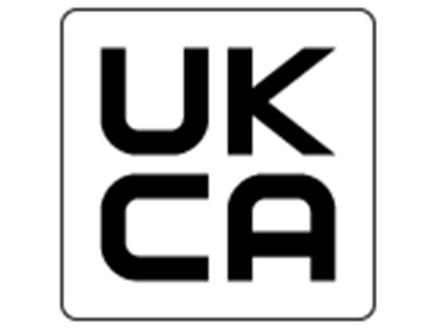 UKCA01 UK conformity assessed compliance mark labels.