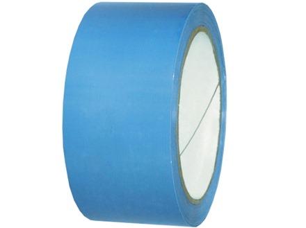 Plain light blue pipeline identification tape.