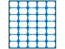 Blue plasnet fencing
