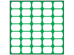 Green plasnet fencing