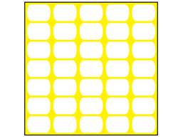 Yellow plasnet fencing