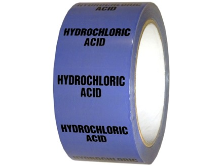 Hydrochloric acid pipeline identification tape.