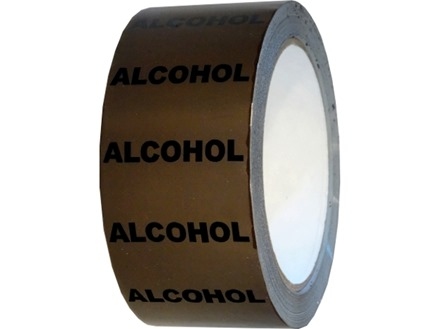 Alcohol pipeline identification tape.