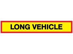 Long Vehicle Sign