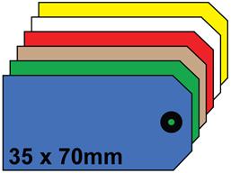 Plain tags, size 1.