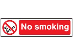 No smoking, mini safety sign.