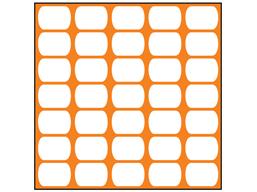 Orange plasnet fencing