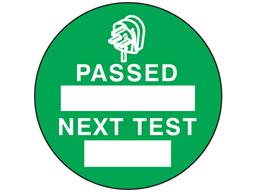 Passed next test label.