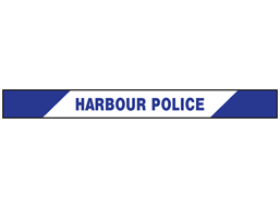 Harbour Police barrier tape