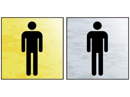 Gents toilet public area sign