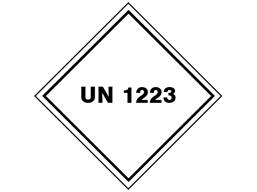 UN 1223 (Kerosene, coal oil) label.