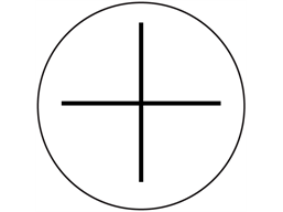 Positive current symbol label.