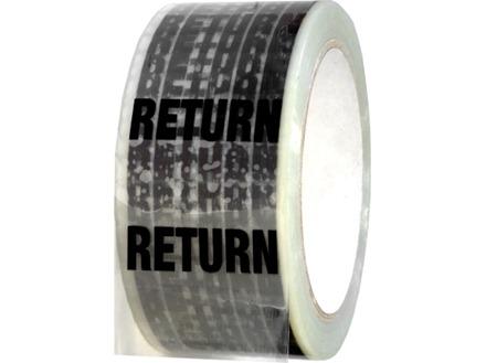 Return pipeline identification tape.