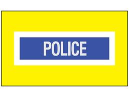 Police safety armband