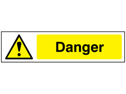 Danger, mini safety sign.