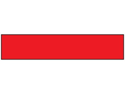 Safety and floor marking tape, red.