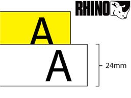 Dymo Rhino nylon tape (24mm)