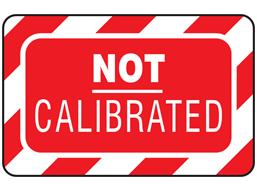 Not calibrated label