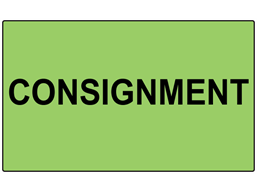Consignment labels
