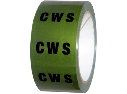 C.W.S pipeline identification tape.