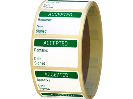 Accepted Labels - Quality Assurance