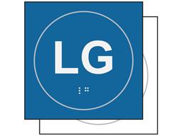 LG sign.