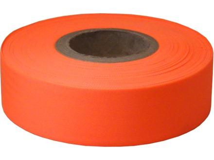 Orange flagging tape