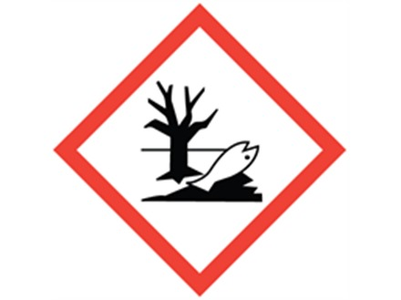 GHS dangerous to the environment hazard label