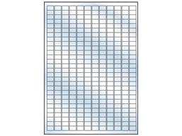 Transparent laminate labels, 10mm x 15mm
