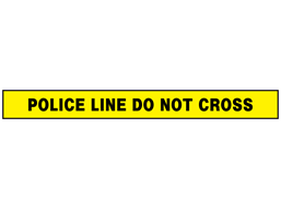 Police Line Barrier Tape