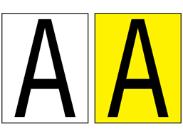 Equipment Identification Markers, 50mm high characters