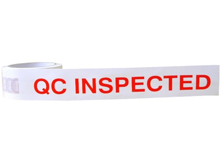 QC Inspected tape
