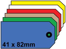 Plain tags, size 2.