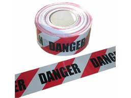 Danger barrier tape