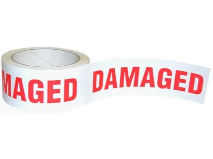 Damaged Tape