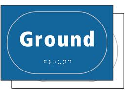 Ground sign.
