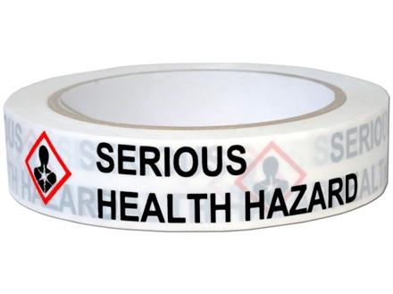 Serious Health Hazard Ghs Tape Ghst008 Label Source