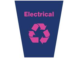 Electrical waste sack