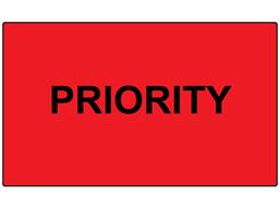 Priority labels
