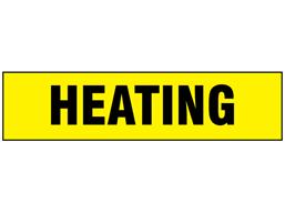 Heating label